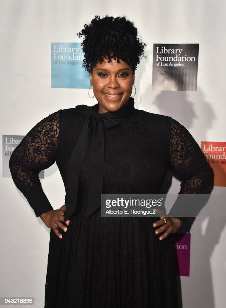 Natasha Rothwell attends the 10th Annual Young Literati Toast at Hudson Loft on April 7 2018 in Los Angeles California