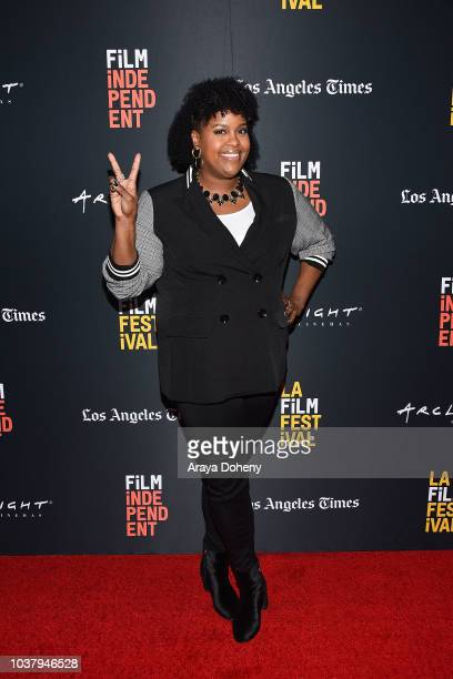 Natasha Rothwell attends the 2018 LA Film Festival We The People True Reflections of 'Us' The Writers' Room at Writers Guild Theater on September 22...