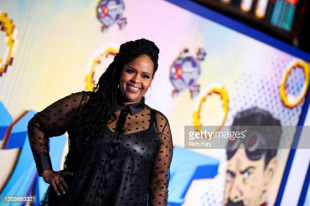 Natasha Rothwell attends the LA special screening of Paramount's Sonic The Hedgehog at Regency Village Theatre on February 12 2020 in Westwood...