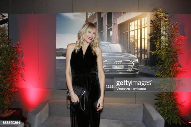 Natasha Stefanenko attends the 'La 25esima Ora New Audi A8 Launch' at Unicredit Pavilion on October 30 2017 in Milan Italy