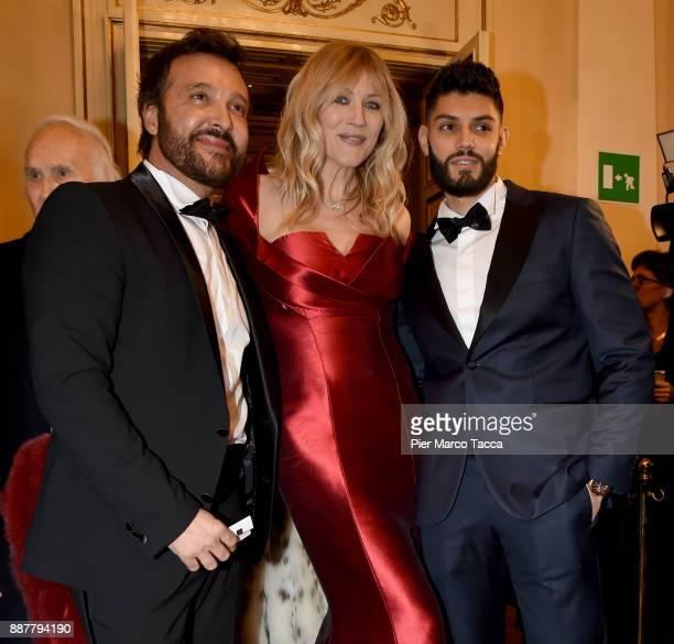 Natasha Stefanenko attends the Prima Alla Scala at Teatro Alla Scala on December 7 2017 in Milan Italy