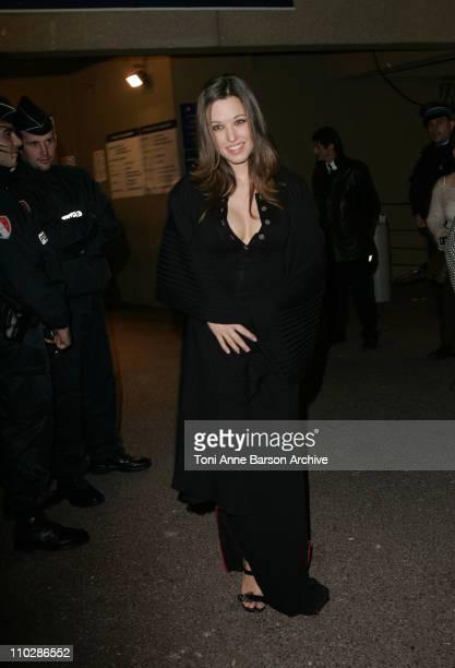 Natasha StPier during 2006 NRJ Music Awards at Midem After Show Departures at Palais des Festivals in Cannes France