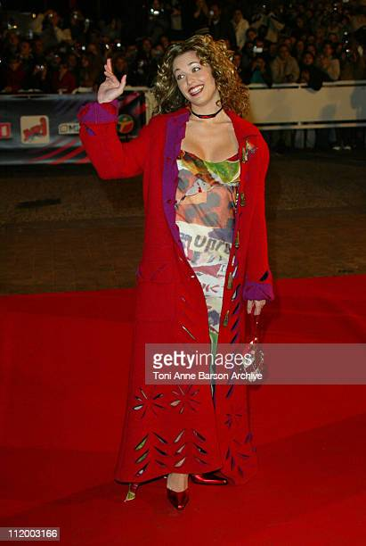Natasha StPier during NRJ Music Awards 2003 Cannes Arrivals at Palais des Festivals in Cannes France