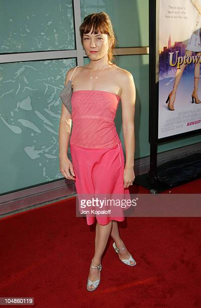 Natasha Wagner during Uptown Girls Los Angeles Premiere at ArcLight Cinerama Dome in Hollywood California United States