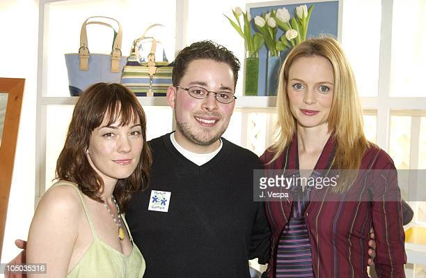 Natasha Wagner Eric Dawson of Peace Games and Heather Graham