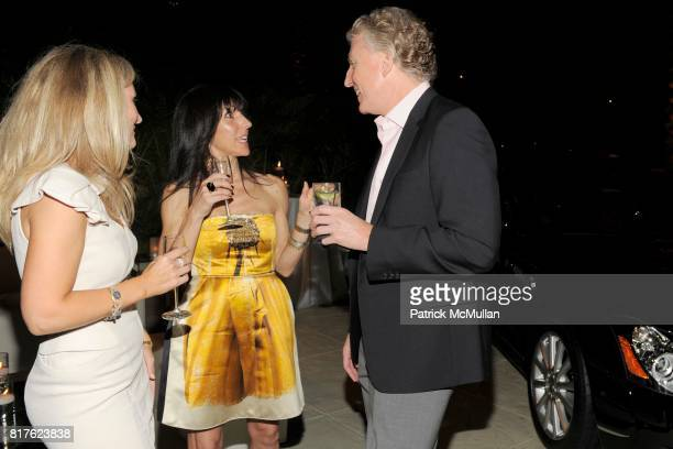 Natasha Wolber Sarah Banks and Chuck Conlan attend MAYBACH and MOCA Art Basel Party with LCD SOUNDSYSTEM at The Raleigh Hotel on December 1 2010 in...
