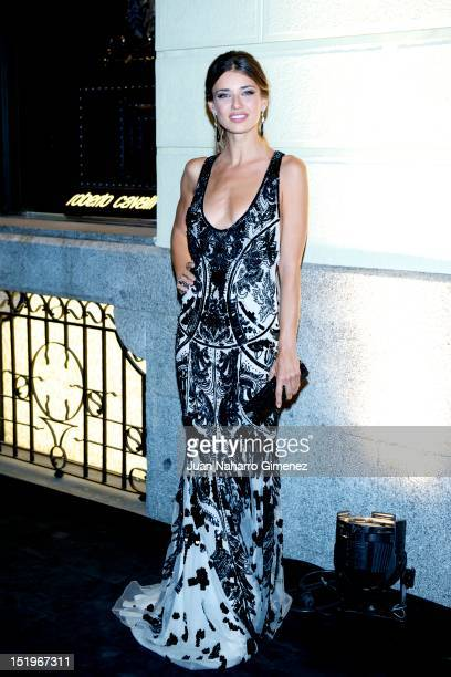 Natasha Yarovenko attends Roberto Cavalli Boutique on September 13 2012 in Madrid Spain