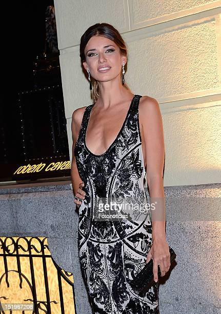 Natasha Yarovenko attends the opening of 'Roberto Cavalli' boutique on September 13 2012 in Madrid Spain