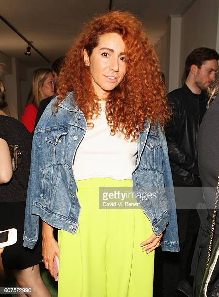 Natasha Zinko attends the Sunday Times Styles Fashion Special party during London Fashion Week Spring/Summer collections 2017 at L'Eden by...
