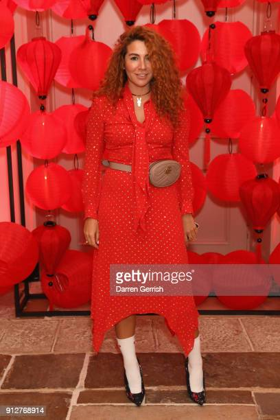 Natasha Zinko attends the Wendy Yu's Chinese New Year celebration at Kensington Palace on January 31 2018 in London England