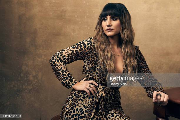 Natasia Demetriou of the film 'What We Do in the Shadows' poses for a portrait at the 2019 SXSW Film Festival Portrait Studio on March 8, 2019 in...