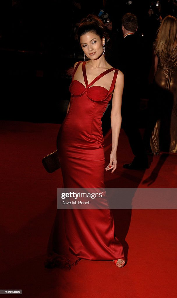 Natassia Malthe attends the launch of the Scarlet