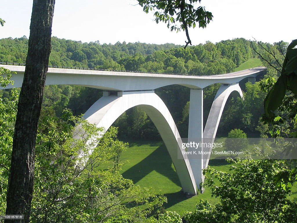 Natchez Trace Parkway Bridge : Stock Photo