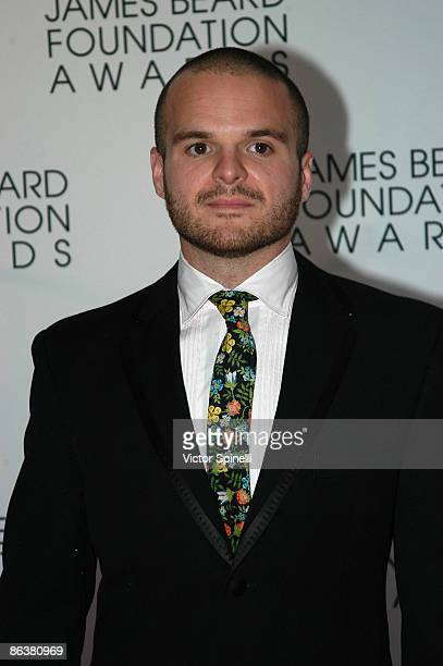 Nate Appleton attends the 2009 James Beard Foundation Awards Ceremony and Gala at Avery Fisher Hall at Lincoln Center for the Performing Arts on May...