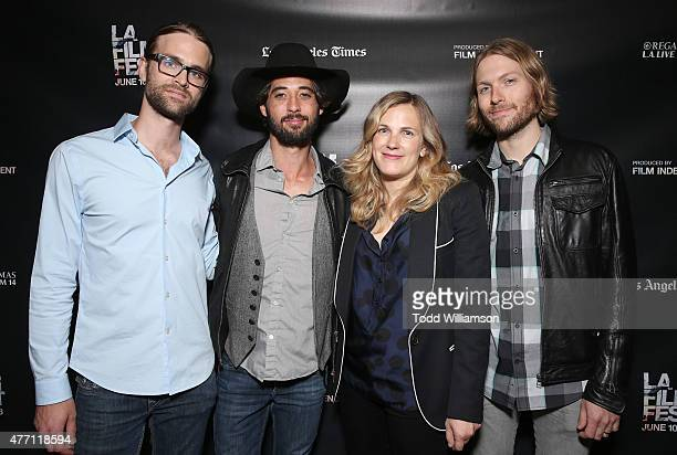 Nate Barnes Ryan Bingham Director/CoWriter Anna Axster and Daniel Sproul attend the World Premiere of A Country Called Home at The 2015 Los Angeles...