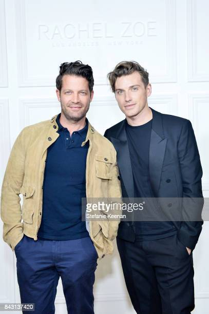 Nate Berkus and Jeremiah Brent attend Rachel Zoe SS18 Presentation at Sunset Tower Hotel on September 5 2017 in West Hollywood California