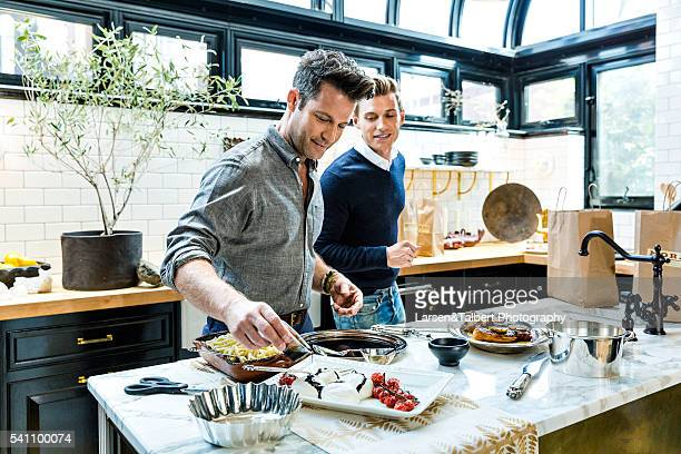 Nate Berkus and Jeremiah Brent entertain at home in their Manhattan penthouse