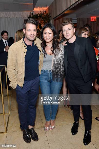 Nate Berkus Anita Ko and Jeremiah Brent attend Rachel Zoe SS18 Presentation at Sunset Tower Hotel on September 5 2017 in West Hollywood California