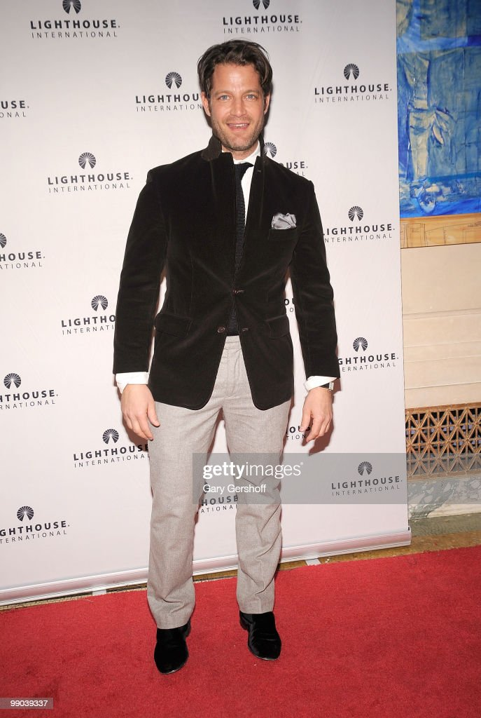 Nate Berkus attends Lighthouse International's A Posh Affair gala at The Oak Room on May 11, 2010 in New York City.