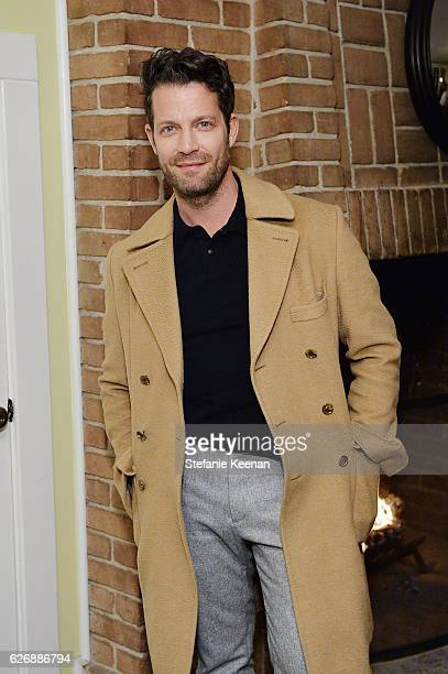 Nate Berkus attends The Zoe Report's Box of Style Winter Edition Dinner at Chateau Marmont on November 30 2016 in Los Angeles California