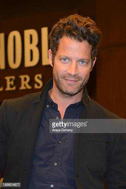 Nate Berkus signs colpies of his new book 'The Things That Matter' at Barnes Noble bookstore at The Grove on November 8 2012 in Los Angeles California