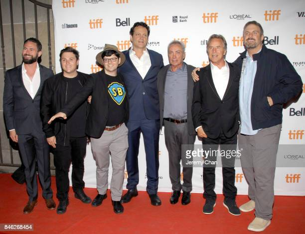 Nate Bolotin Jack Heller Tiff programmer Peter Kuplowsky Vince Vaughn Udo Kier Don Johnson and Dallas Sonnier attend the 'Brawl in Cell Block 99'...