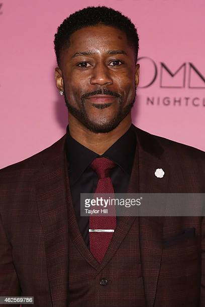 Nate Burleson attends ESPN the Party at WestWorld of Scottsdale on January 30 2015 in Scottsdale Arizona