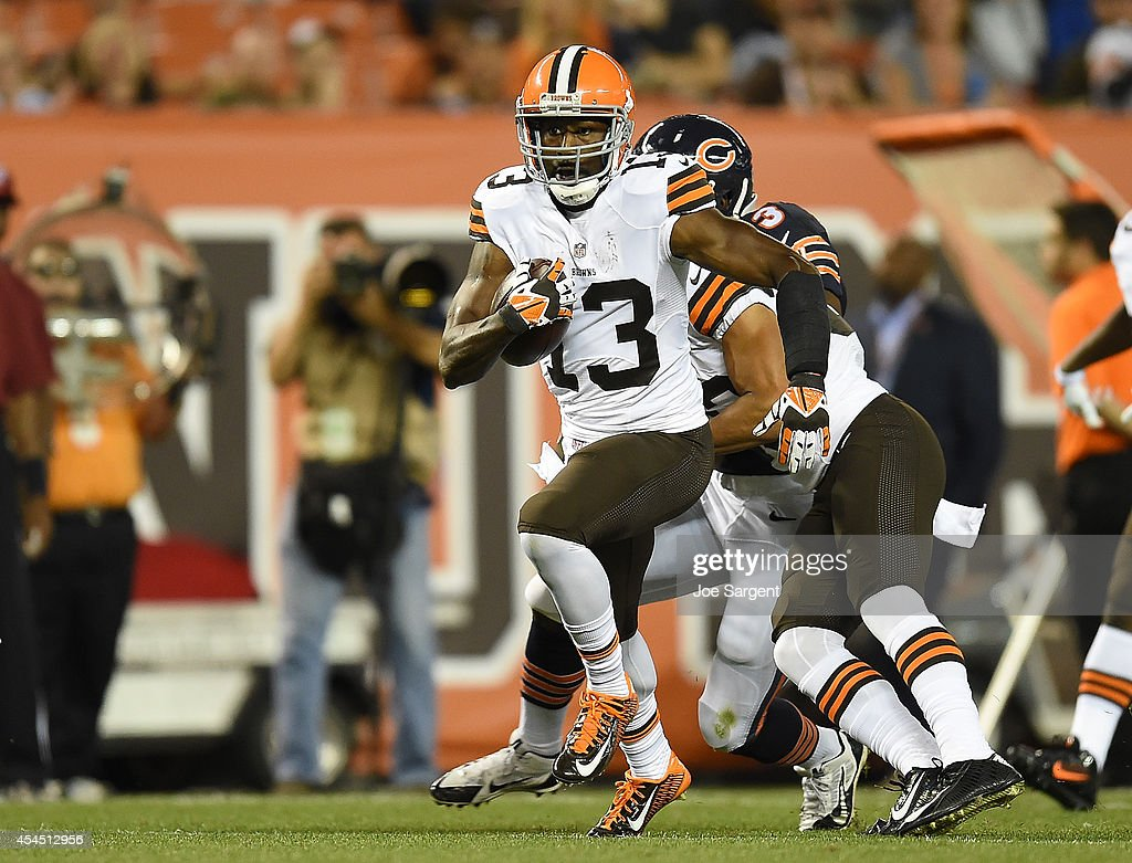 Chicago Bears v Cleveland Browns : News Photo