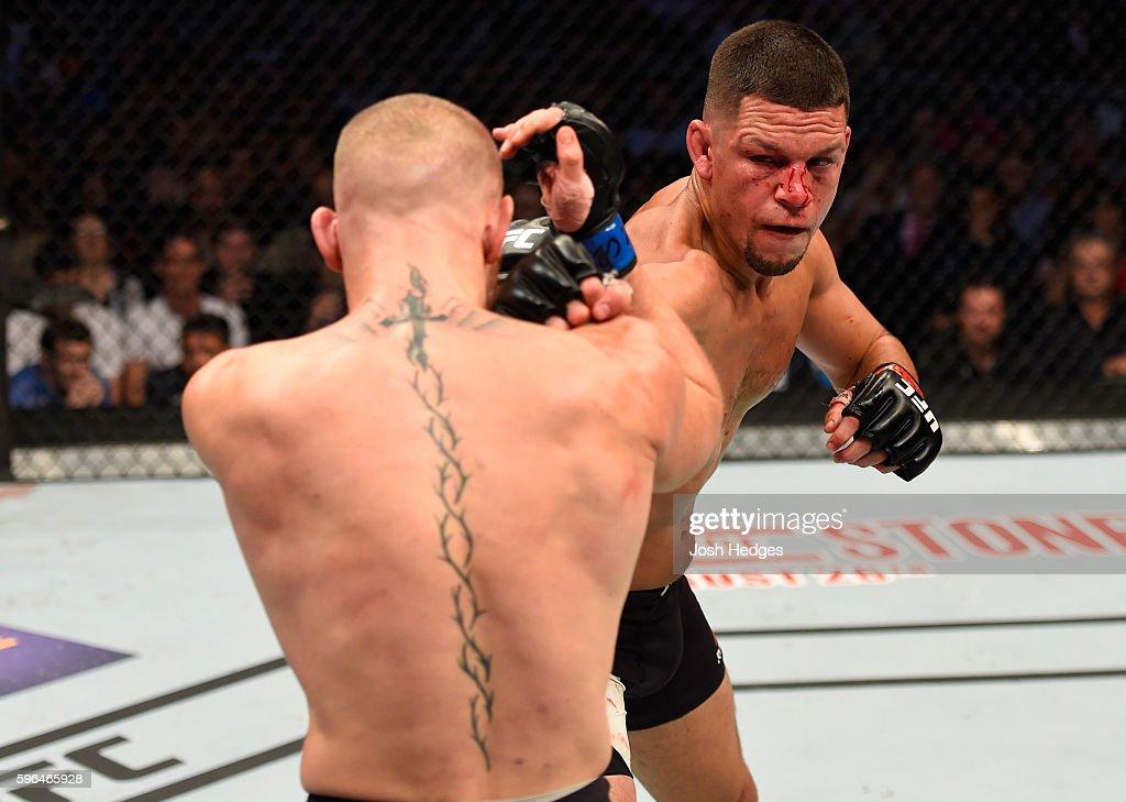 UFC 202: Diaz v McGregor 2 : News Photo