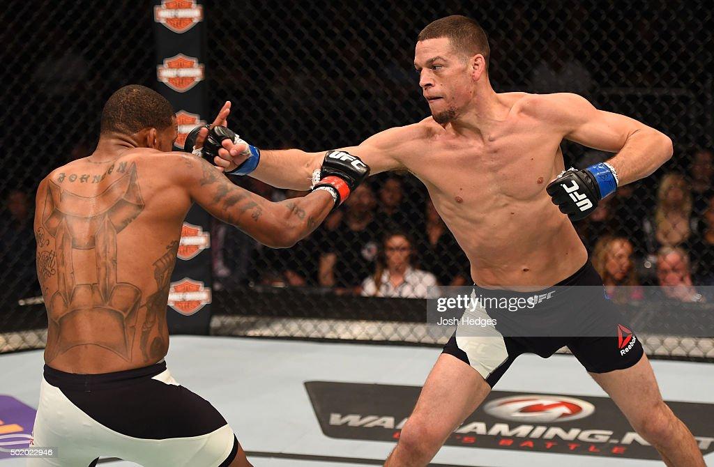 UFC Fight Night: Johnson v Diaz : News Photo