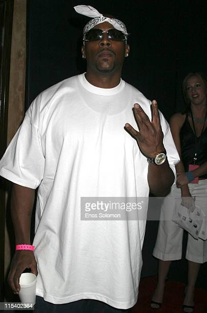 Nate Dogg during 2005 BET Awards Afterparty Hosted by Gabrielle Union at After party in Hollywood, California, United States.