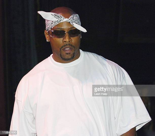"Nate Dogg during MC Hush ""Bulletproof"" Record Release Party at Emerald Theater in Mt. Clemens, Michigan, United States."