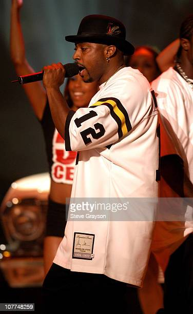 Nate Dogg performance with 50 Cent during The 3rd Annual BET Awards Show at The Kodak Theater in Hollywood California United States