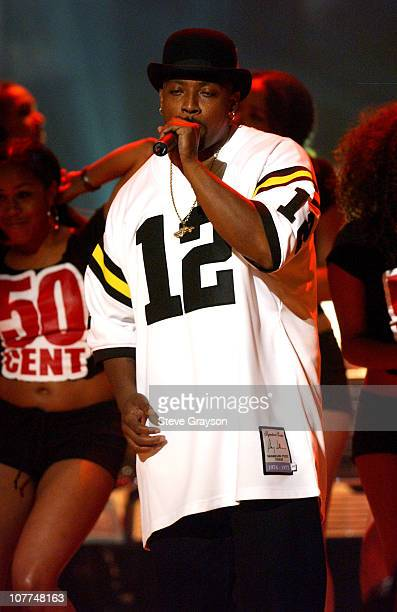 Nate Dogg performs with 50 Cent during The 3rd Annual BET Awards Show at The Kodak Theater in Hollywood California United States