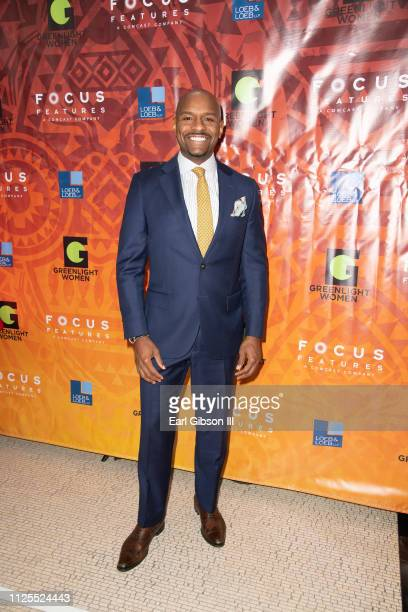 Nate Fluellen attends the Greenlight Women For Black History Month Brunch Celebration at The London on February 17 2019 in West Hollywood California