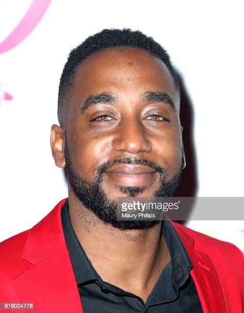 Nate Howard attends the 2018 Beauty The Beats Celebrity Party and Panel Discussion at Dream Magic Studios on February 15 2018 in Canoga Park...