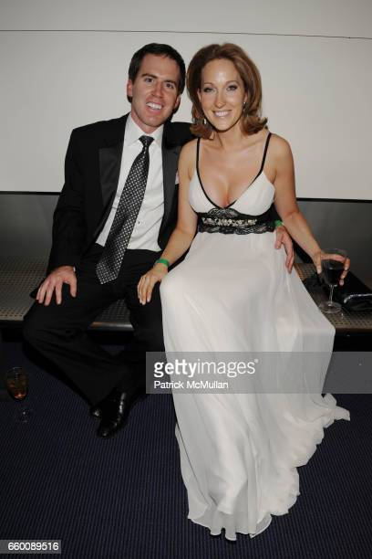 Nate Hurst and Sloane Hurst attend THE HUFFINGTON POST PreInaugural Ball at The Newseum on January 19 2009 in Washington DC