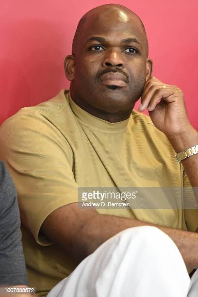 Nate McMillan attends USAB Minicamp at Mendenhall Center on the University of Nevada Las Vegas campus on July 27 2018 in Las Vegas Nevada NOTE TO...