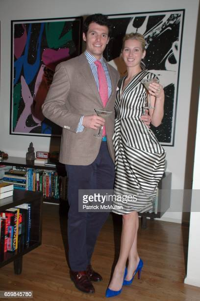Nate Morse and Courtney Scannell attend THE SOCIETY PRESENTS POP The Genius of ANDY WARHOL hosted by Naeem and Ranjana Khan at 129 Spring Street on...
