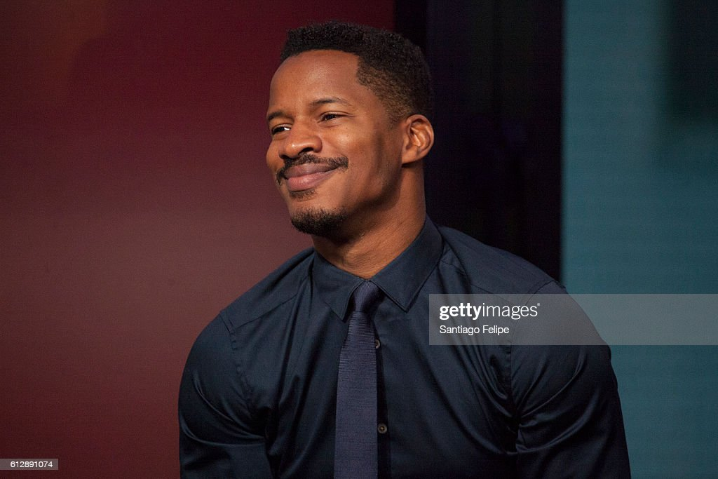 Nate Parker attends The Build Series to discuss the movie 'The Birth Of A Nation' at AOL HQ on October 5, 2016 in New York City.