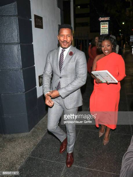 Nate Parker is seen on December 05 2017 in Los Angeles California