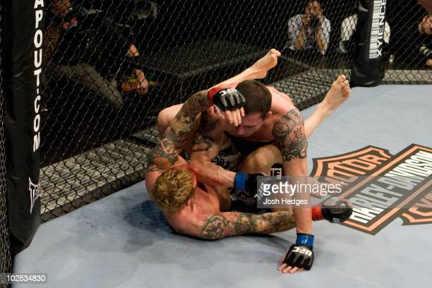 Nate Quarry def Jason MacDonald TKO 227 round 1 during UFC 97 at Bell Centre on April 18 2009 in Montreal Quebec Canada