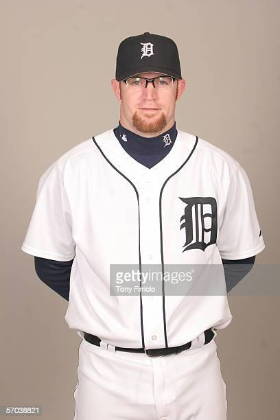 Nate Robertson of the Detroit Tigers during photo day at Marchant Stadium on February 26 2006 in Lakeland Florida