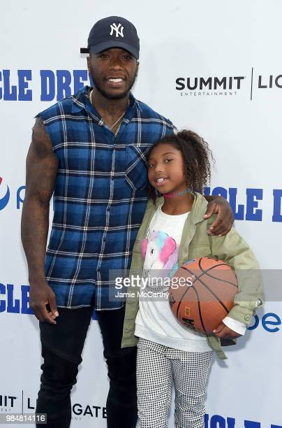 f42deb184d0 Nate Robinson and his daughter attend the Uncle Drew New York Premiere on  June 26 2018