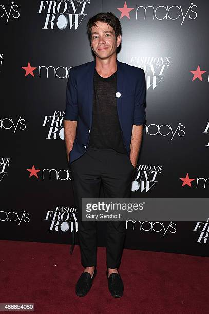 Nate Ruess appears at Macy's Presents Fashion's Front Row After Party at Macy's Herald Square on September 17, 2015 in New York City.