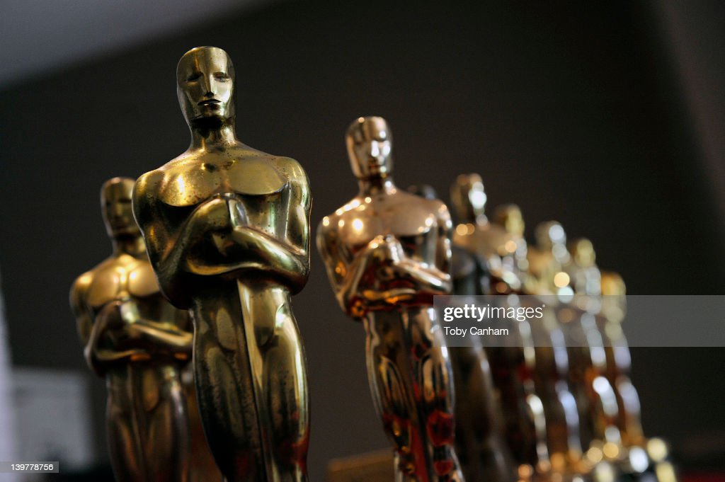 Nate D. Sanders Auctions Collection Of Academy Award Oscar Statuettes Set To Be Auctioned : News Photo