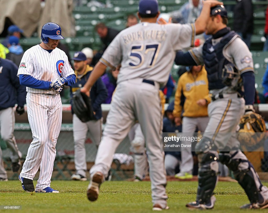 Milwaukee Brewers v Chicago Cubs