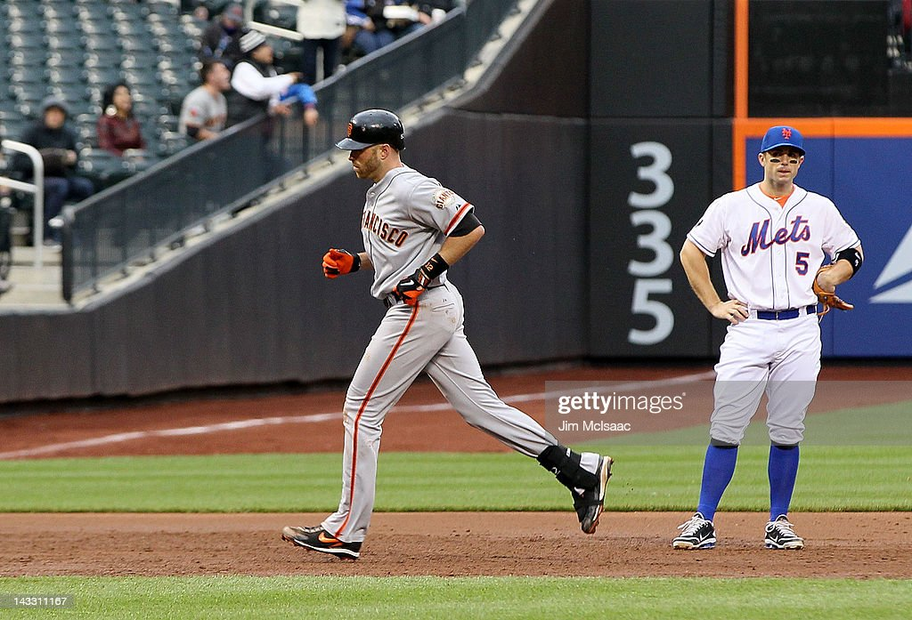 San Francisco Giants v New York Mets - Game One