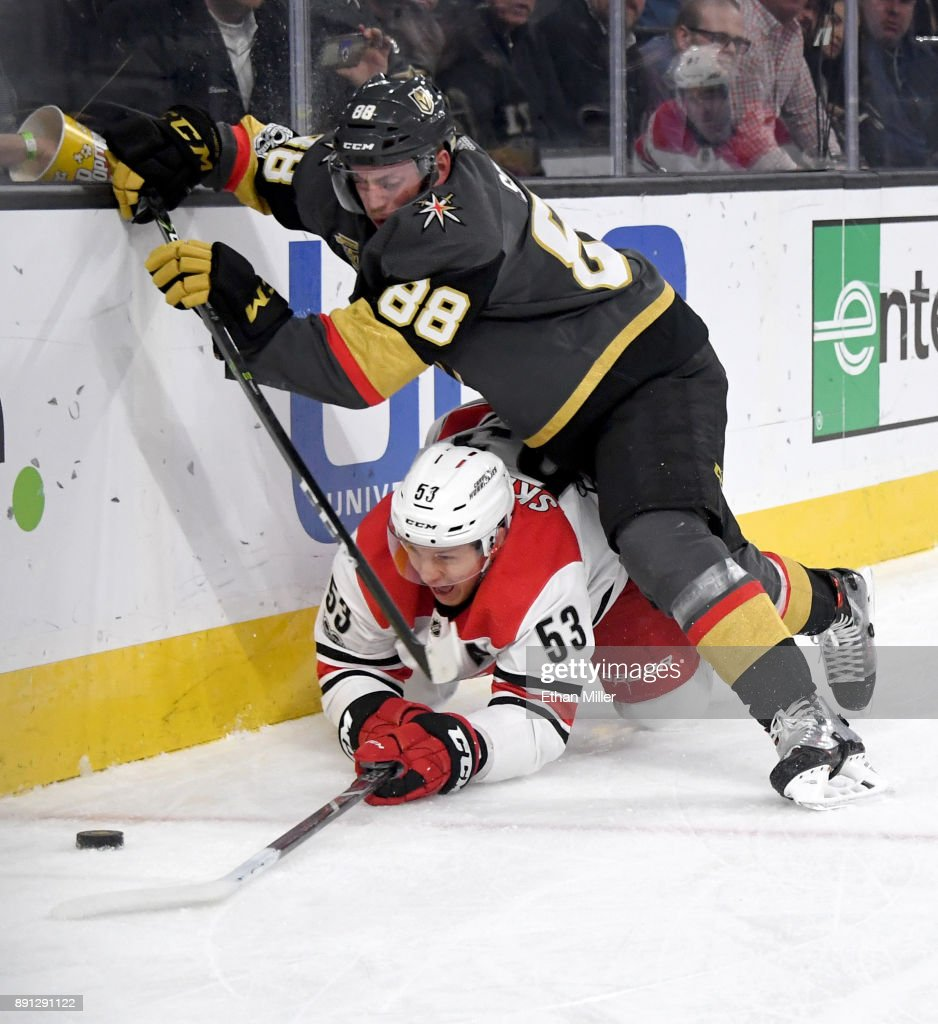 Carolina Hurricanes v Vegas Golden Knights
