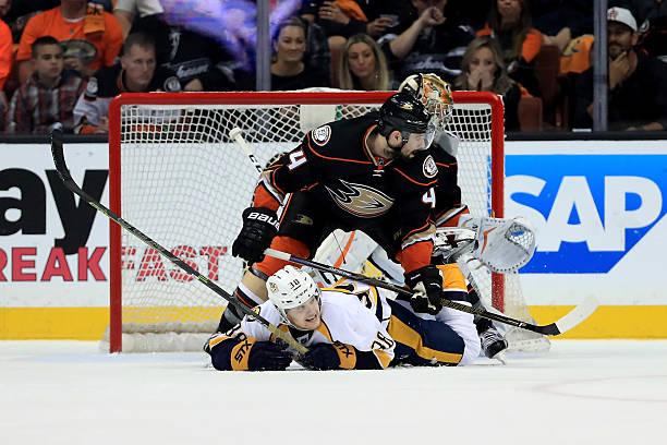Nashville Predators v Anaheim Ducks - Game Two